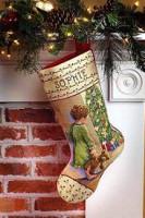 Chaussette de Noël : le matin de Noël