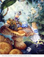Alice et le conseil de la chenille