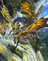 Dragons aux chutes