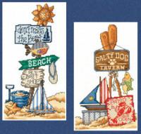 Signes de plage I