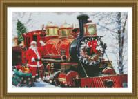 Le train du Père Noël