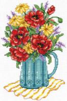 Fleurs de printemps en vase
