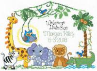Tableau de naissance famille de la jungle