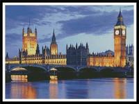 Crépuscule sur Londres
