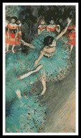 Danseuse en vert (Degas)