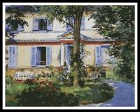 Maison à Rueil (Manet)