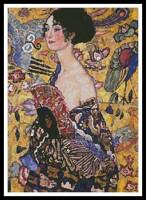 Femme à l'éventail (Klimt)