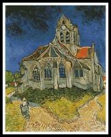 Eglise à Auvers (Van Gogh)