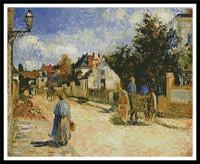 Une rue à Pontoise (Pissaro)