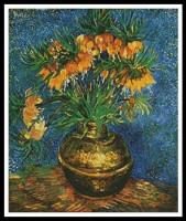 Fritillaires dans un vase en cuivre (Van Gogh)