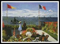 Le jardin à Sainte-Adresse (Monet)