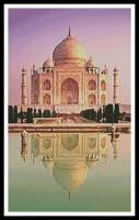 Reflet du Taj Mahal (Inde)