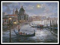 Peinture du Grand Canal à Venise