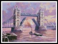 Peinture du pont de la Tour de Londres