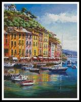 Vue de Portofino (Italie)