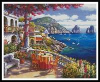 Capri, au matin (Italie)