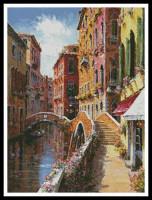 Pont double à Venise