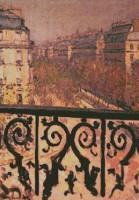 Un balcon à Paris (Caillebotte)