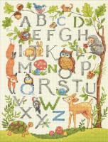 Alphabet de la forêt