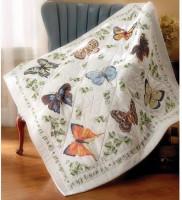 Quilt papillons