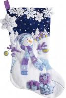 Chaussette de Noël : nuit glaciale