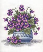 Branche de violettes