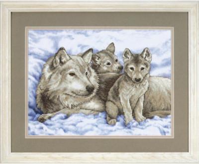 La louve et ses petits