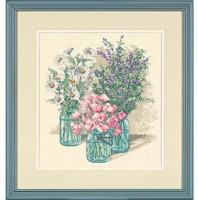 Trio de fleurs sauvages
