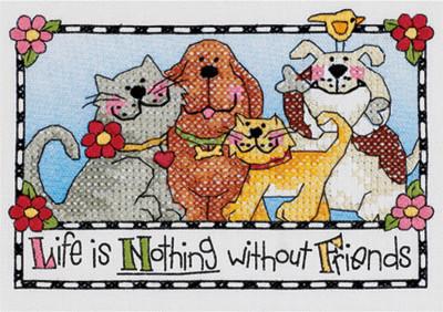 La vie n'est rien sans amis