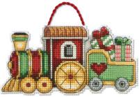 Ornements de Noël : Petit train de Noël et Père Noël