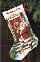 Chaussette de Noël : Bienvenue Père Noël