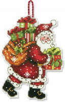 Ornements de Noël : Père Noël et sapin