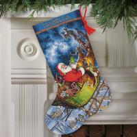 Chaussette de Noël : le vol du Père Noël