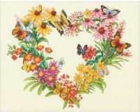 Couronne de fleurs sauvages