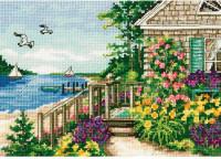 Le cottage près de la mer