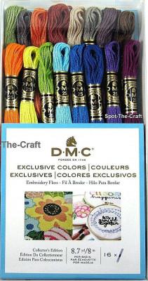 Assortiment de fils DMC couleurs exclusives