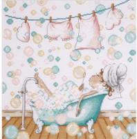 En faisant des bulles