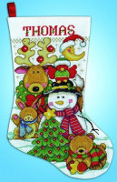 Chaussette de Noël : se faire des amis