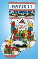 Chaussette de Noël : vive Noël
