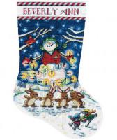 Chaussette de Noël : la lumière de la nuit