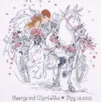 Attelage de mariage