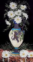 Marguerites en vase