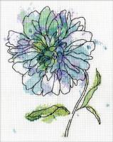 Floraison en bleu