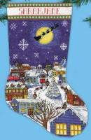 Chaussette de Noël : veillée de Noël