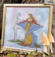 Jeune fille à la licorne