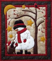Bonhomme de neige et ami