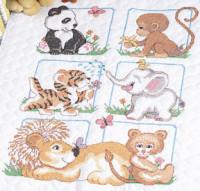 Quilt animaux bébés