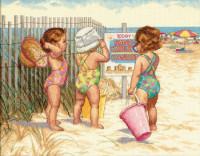 La plage des bébés