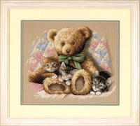 Teddy et les chatons