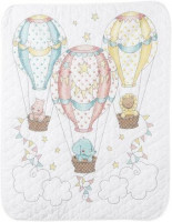 Quilt vol de montgolfières